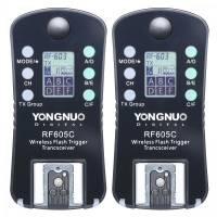Radio palaidēji - Yongnuo RF-605C radio palaidēju komplekts Canon - perc veikalā un ar piegādi