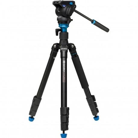 Видео штативы - Benro A2883FS4 travel video statīvs ar galvu - купить сегодня в магазине и с доставкой