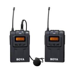 Mikrofoni - Boya UHF Lavalier bezvadu/ radio mikrofons BY-WM6 350272 - perc veikalā un ar piegādi