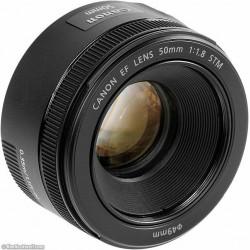 Objektīvi - Canon EF 50mm F/1.8 STM - perc šodien veikalā un ar piegādi