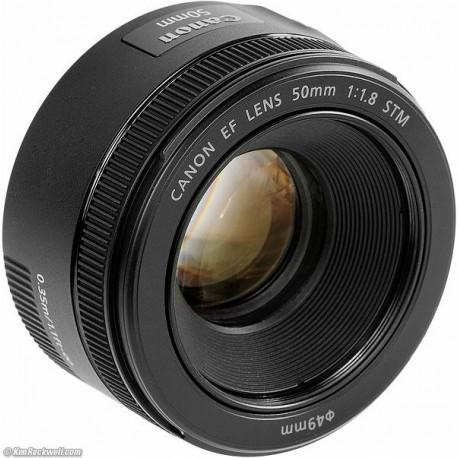 Objektīvi - Canon EF 50mm F/1.8 STM - ātri pasūtīt no ražotāja
