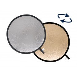 Foldable Reflectors - Lastolite Collapsible Reflector 1.2m Sunfire/Silver - quick order from manufacturer