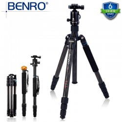 Camera Stands - Benro C2682TV2 foto statīvs ar galvu karbona - buy in store and with delivery