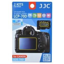Kameru aizsargi - JJC LCP-70D aizsargs displejiem Canon EOS 70D kamerai - perc veikalā un ar piegādi