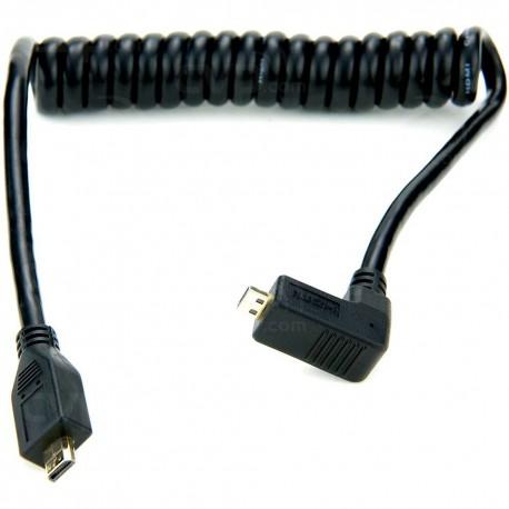 Videokameru aksesuāri - Atomos Micro HDMI-Micro HDMI vads 30-45cm right angle - perc šodien veikalā un ar piegādi