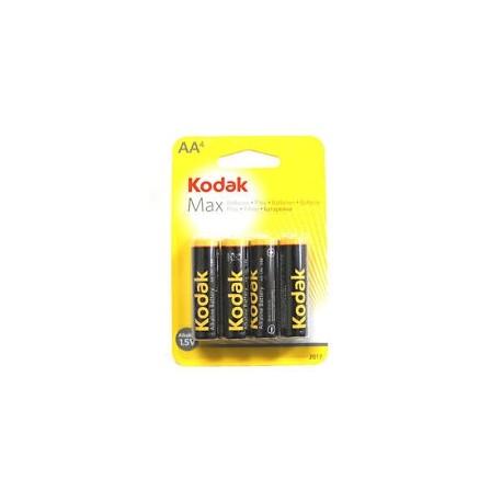 Батарейки и аккумуляторы - Baterija KODAK LR6*4gb - купить сегодня в магазине и с доставкой