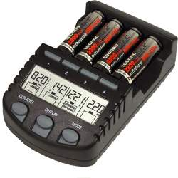 AA batteries for flash - Technoline BC-700 4 režimi AA un AAA 4 gab. lādētais - quick order from manufacturer