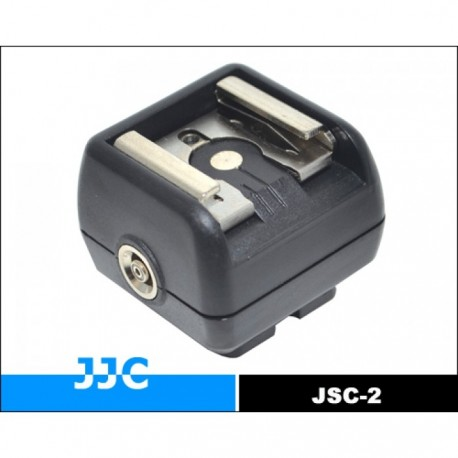 Acessories for flashes - Hot Shoe Adapter with PC Female Outlets (Hot) JSC-2 - quick order from manufacturer