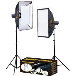Studijas zibspuldžu komplekti - Linkstar Studijas gaismu komplekts DLK-2350D Digital 560816 - perc šodien veikalā un ar piegādi