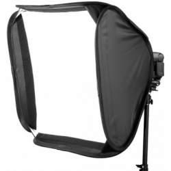 Aksesuāri zibspuldzēm - Jinbei E-40x40 saliekamais softbokss kameras zibspuldzei - perc veikalā un ar piegādi