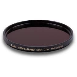 Objektīvu filtri - KENKO FILTER REAL PRO ND64 49MM - perc šodien veikalā un ar piegādi