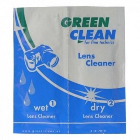 Foto kameras tīrīšana - Green Clean LC-7010 tīrīšanas salvetes optikai - perc šodien veikalā un ar piegādi
