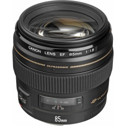 Lenses - Canon EF 85mm f/1.8 USM - buy today in store and with delivery