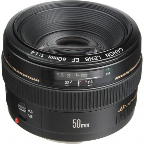 Объективы - Canon EF 50mm f/1.4 USM - купить сегодня в магазине и с доставкой