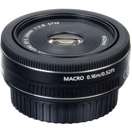 Объективы - Canon EF-S 24MM 2.8 STM Canon - купить сегодня в магазине и с доставкой