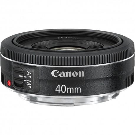 Objektīvi - Canon EF 40mm f/2.8 STM Pancake Lens - perc šodien veikalā un ar piegādi
