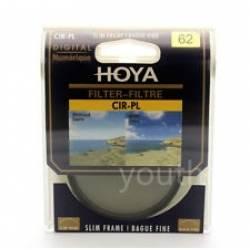 Objektīvu filtri - HOYA CPL Circular Polarizing PL-CIR Filter 62mm - ātri pasūtīt no ražotāja