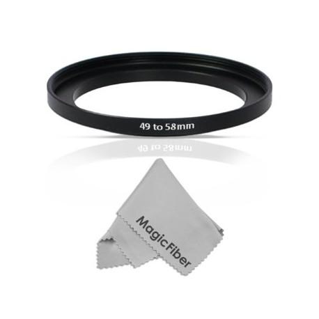 Адаптеры для фильтров - Marumi Step-up Ring Lens 49 mm to Accessory 58 mm - купить сегодня в магазине и с доставкой