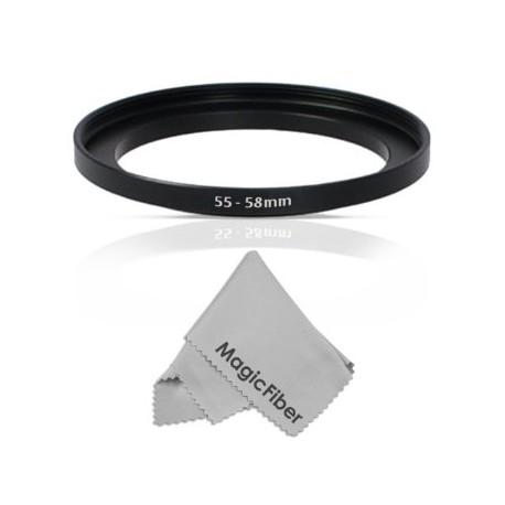 Адаптеры для фильтров - Marumi Step-up Ring Lens 55 mm to Accessory 58 mm - купить сегодня в магазине и с доставкой