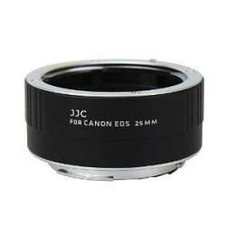 Makro aksesuāri - JJC AET-C25 25mm macro gredzens ar auto-fokusa funkciju Canon kamerām - perc šodien veikalā un ar piegādi