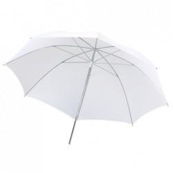Foto lietussargi - METZ lietussargs 80cm UM-80 W balts/izkliedējošss - perc veikalā un ar piegādi