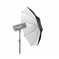 Umbrellas - Jinbei 100CM balts atstarojošs lietussargs - buy today in store and with delivery