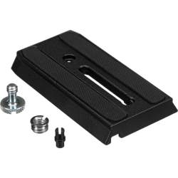 Tripod Accessories - 501PL quick release place for Manfrotto PLATE RAPIDE P/501 - buy today in store and with delivery