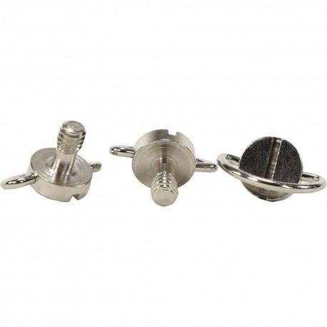 Аксессуары штативов - D-ring Screw 1/4-20 DRS-03 Diametrs 20mm Garums 13mm - купить сегодня в магазине и с доставкой