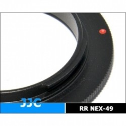 Macro - JJC RR-NEX 49MM -- 49MM thread with SONY E Mount body - buy in store and with delivery