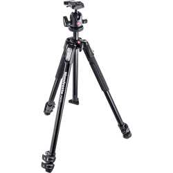 Photo tripods - Manfrotto 190 ALU 3 SEC KIT BALL HEAD - quick order from manufacturer