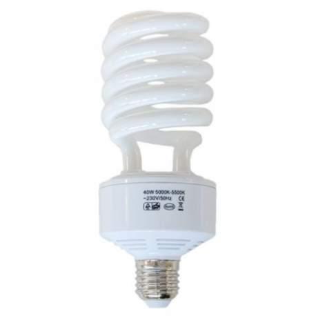 Studijas gaismu spuldzes - Falcon Eyes E27 Daylight Lamp 40W ML-40 293046 - perc šodien veikalā un ar piegādi