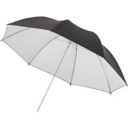 Foto lietussargi - Caler S-34-40 102cm Melns/balts lietussargs - perc veikalā un ar piegādi