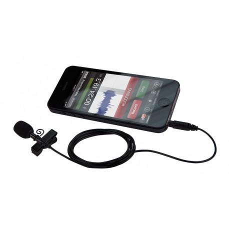 Mikrofoni - Rode smartLav + Lavalier piespraužamais mikrofons viedtālruņiem un planšetēm - perc veikalā un ar piegādi
