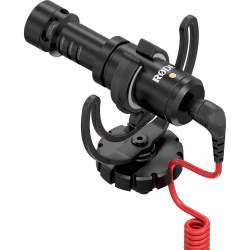 Mikrofoni - Rode VideoMicro Compact Cardioid Light-weight On-Camera Microphone with rycote - perc šodien veikalā un ar piegādi