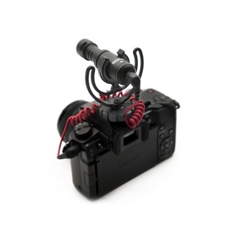 Mikrofoni - Rode VideoMicro Compact Cardioid Light-weight On-Camera Microphone with rycote - perc šodien veikalā un ar piegādi