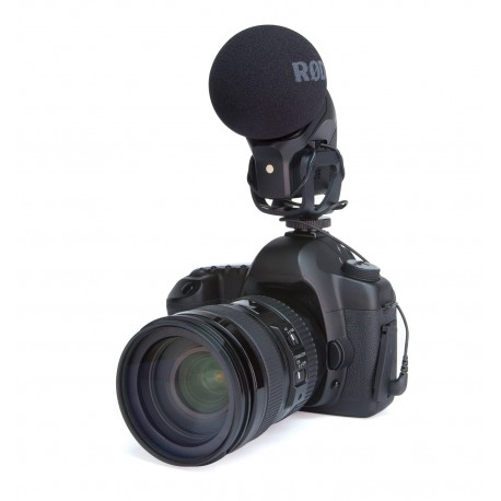 Mikrofoni - Rode Stereo VideoMic PRO Compact Stereo Video Microphone PRO. XY, Studi Grade. For Camera or accessoires - perc veikalā un ar piegādi