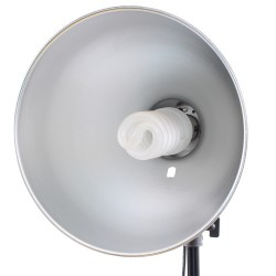 Fluorescējošās - Linkstar Daylight Lamp FLS-26N1 28W + Reflector 26 cm - perc veikalā un ar piegādi