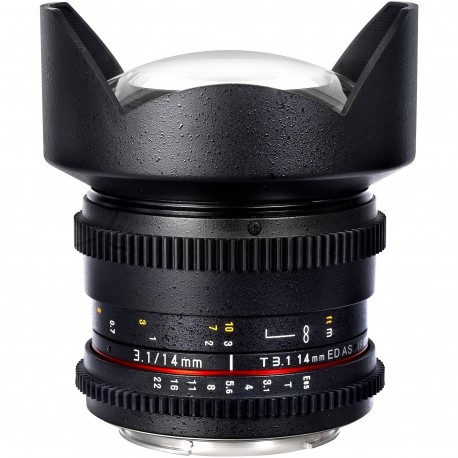 Objektīvi un aksesuāri - Samyang 14mm T3.1 Cine Lens for Canon EF-Mount