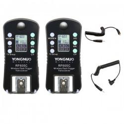 Aksesuāri - Yongnuo RF-605C Wireless Flash Trigger palaidēja noma