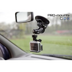 GoPro Stiprinājumi - Pro-mounts piesūceknis GoPro kamerām - perc veikalā un ar piegādi