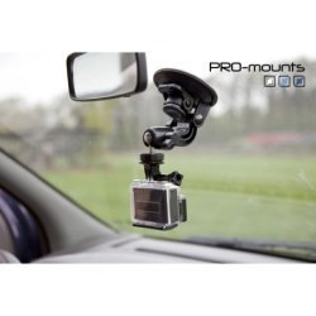 GoPro Stiprinājumi - Pro-mounts piesūceknis GoPro kamerām - ātri pasūtīt no ražotāja
