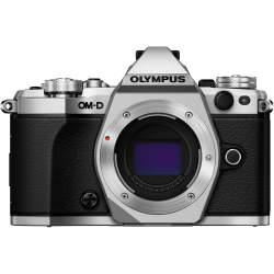 Bezspoguļa kameras - Olympus E-M5II Body silver incl. Charger & Battery - ātri pasūtīt no ražotāja