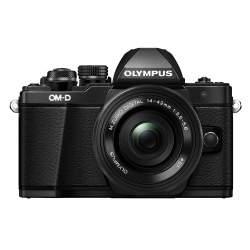 Bezspoguļa kameras - Olympus E-M5II Pancake Zoom Kit black E-M5 Mark II black + EZ-M1442EZ black incl. Charger & Battery - ātri pasūtīt no ražotāja