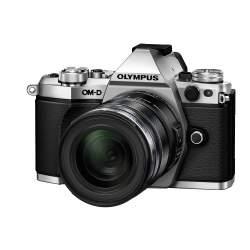 Bezspoguļa kameras - Olympus E-M5II 1250 Kit silver black E-M5 Mark II silver + EZ-M1250 black incl. Charger + Battery - ātri pasūtīt no ražotāja