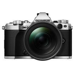 Bezspoguļa kameras - Olympus E-M5II 1240 Kit silver black E-M5 Mark II silver + EZ-M1240PRO black incl. Charger, Battery + Lens Hood - ātri pasūtīt no ražotāja