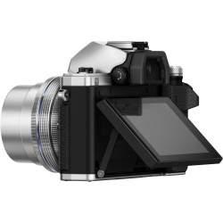 Bezspoguļa kameras - Olympus E-M10II 1442 IIR Kit silver - ātri pasūtīt no ražotāja