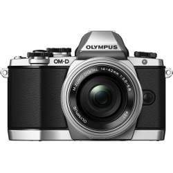 Bezspoguļa kameras - Olympus E-M10II Pancake Zoom Kit black - ātri pasūtīt no ražotāja