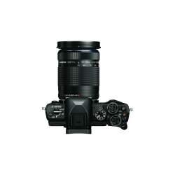 Bezspoguļa kameras - Olympus E-M10II Pancake Double Zoom Kit black - ātri pasūtīt no ražotāja