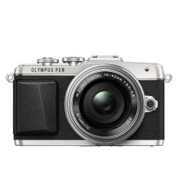 Bezspoguļa kameras - Olympus E-PL7 Pancake Zoom Kit silver - ātri pasūtīt no ražotāja