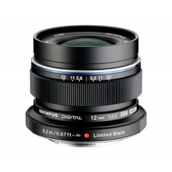 Objektīvi - Olympus M.ZUIKO DIGITAL ED 12mm 1:2.0 EW-M1220 black - ātri pasūtīt no ražotāja